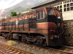 IE class 141 nr. 143 Weathering done by the Weathering Guru