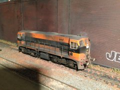 Class 141 #142. Done by Trevor Hurley from Weathering & Detailing Service