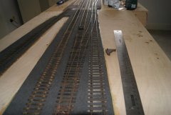 dry fitting track