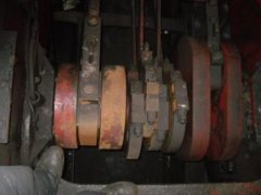 Driving axle detail