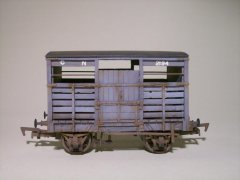 Provincial Wagons GN Cattle Wagon.Kit Built.