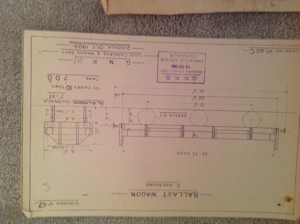 GNR & DNGR drawings - For Sale or Wanted - Irish Railway